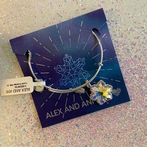 Alex and Ani snowflake bangle